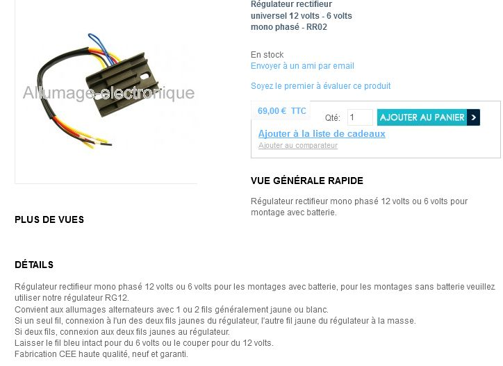 Regulateur avec batterie AC ou DC ?
